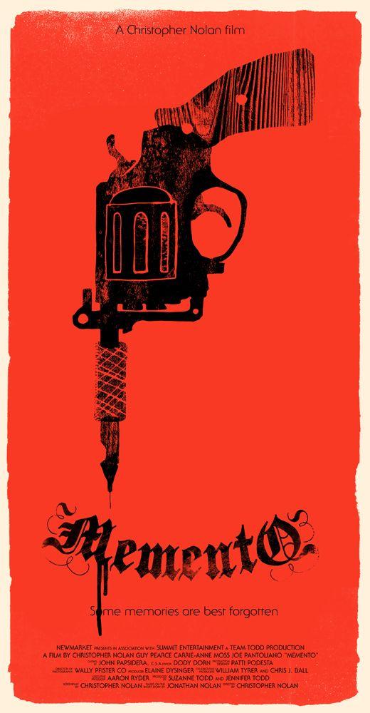 Memento On Behance Classic Movie Poster Nolan Film Essay