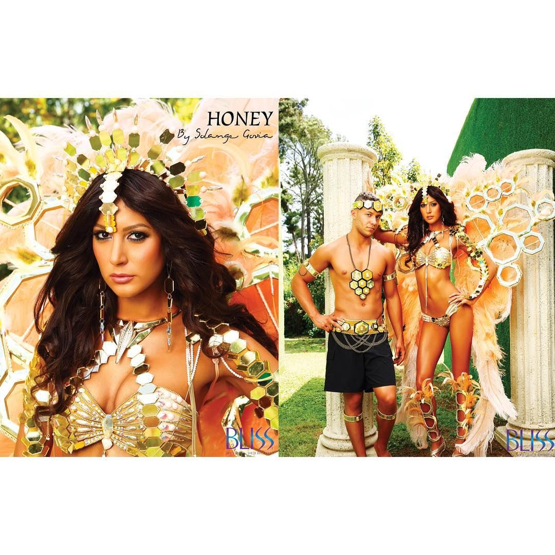 Honeycomb - designed by Solange Govia #BLISS #TheForbidden #TheLaunch #BandLaunch #PoweredByNCC