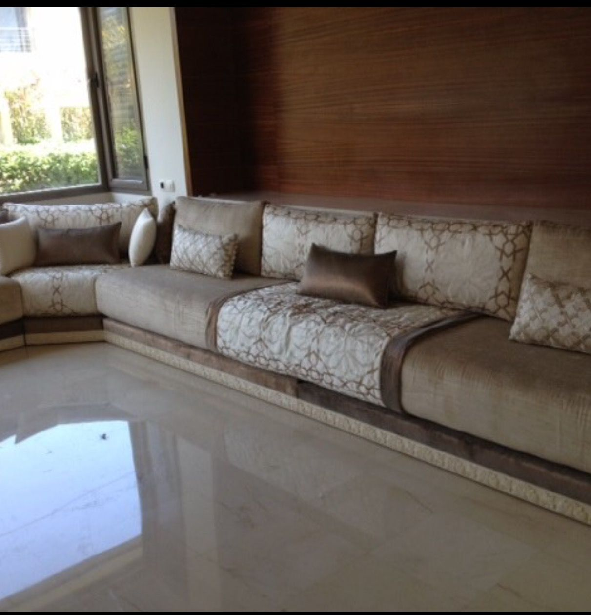 Seddari, The Moroccan Sofa