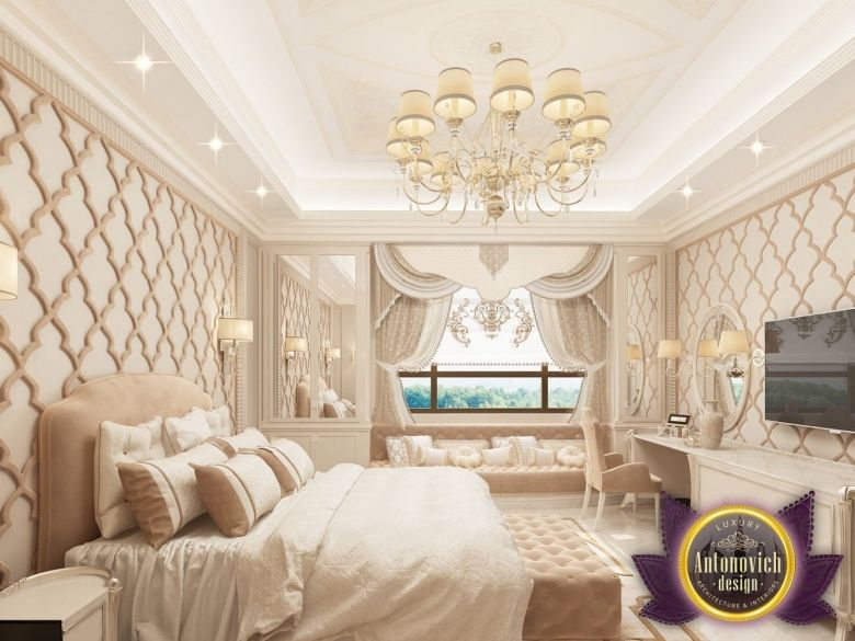 Bedroom Design In Dubai Modern Arabic Photo 4