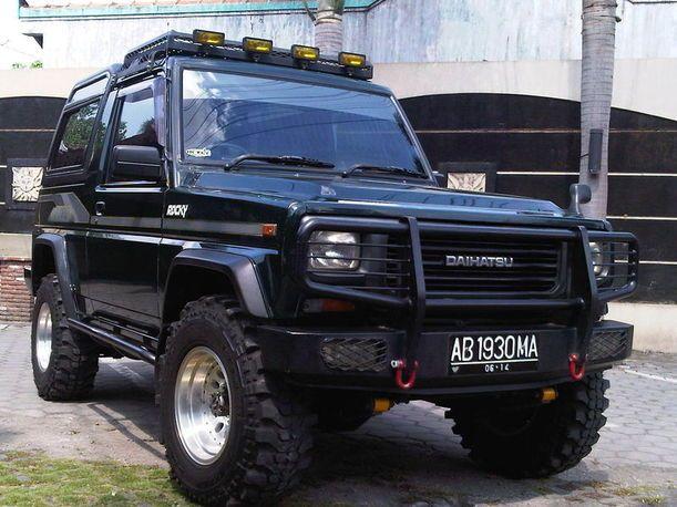 Jual Mobil Daihatsu Rocky 4x4 2 8 Solar 1992 Yogyakarta Dengan