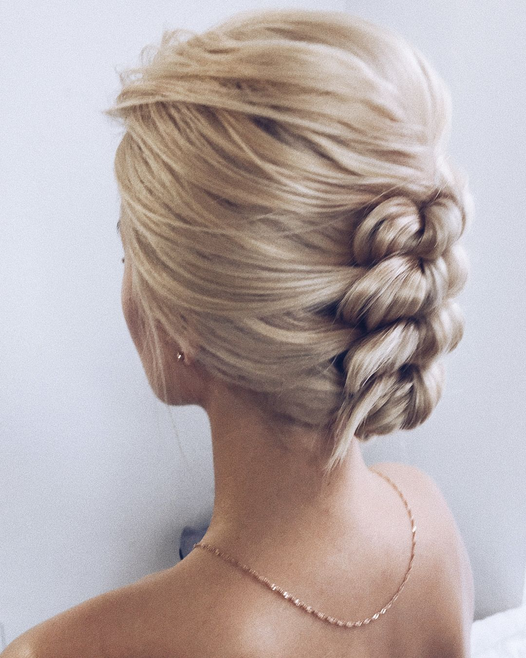 Beautiful Braided Updos Hairstyle by Lena Bogucharskaya
