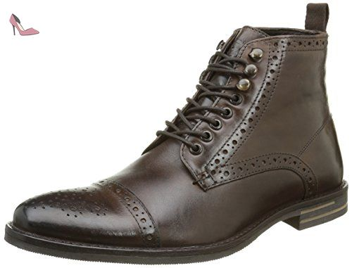 Barrage, Derbys Homme, Marron (Brown Washed), 41 EUBase London