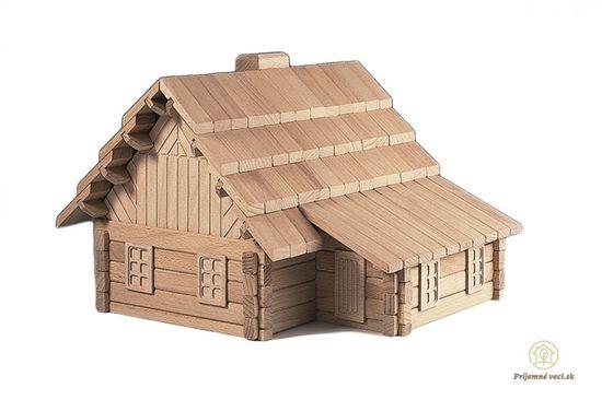 Drevená stavebnica Archa 3