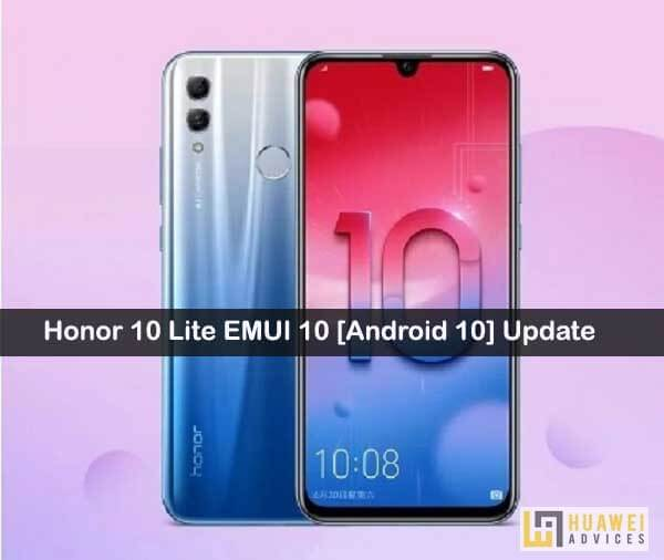 Honor 10 Lite Emui 10 Android 10 Open Beta Update Gets Rolling Hry Al00 Al00a Tl00 Camera Application Huawei Beta