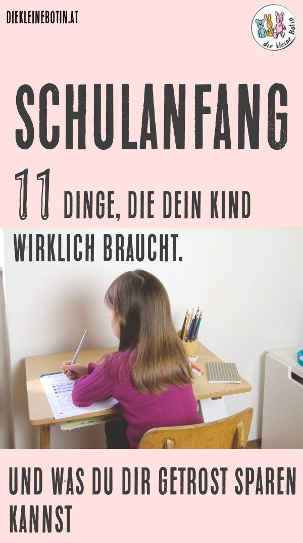 Schulanfang. Eine ganz besondere Zeit #backtoschool