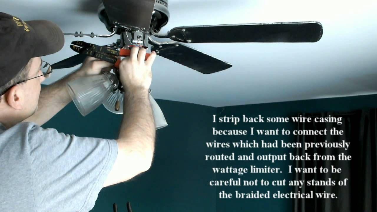 Hunter Fan Light Wattage Limiter | http://onlinecompliance.info ...