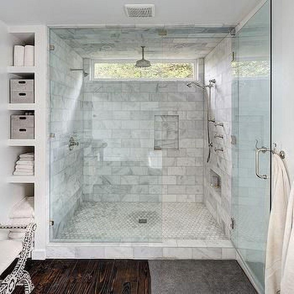 Master Bathroom Walk In Shower Ideas Bathroom Remodel Cost Window In Shower Farmhouse Shower