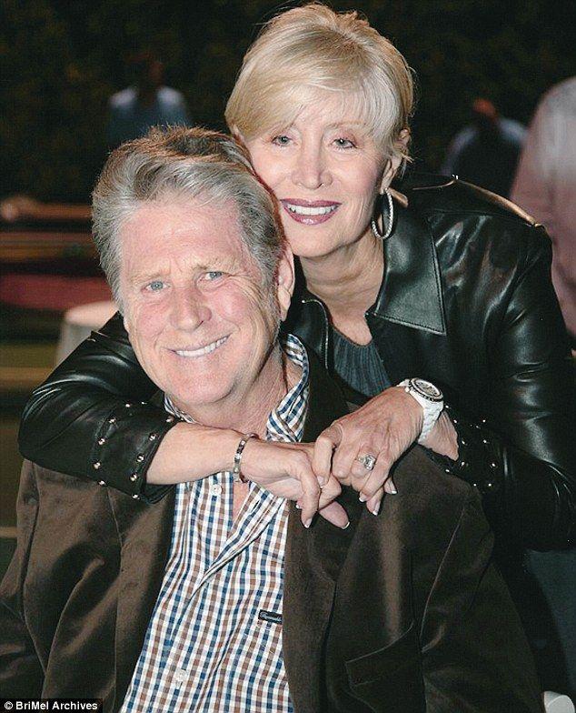 Brian Wilson Beach Boys And Wife Melinda Ledbetter