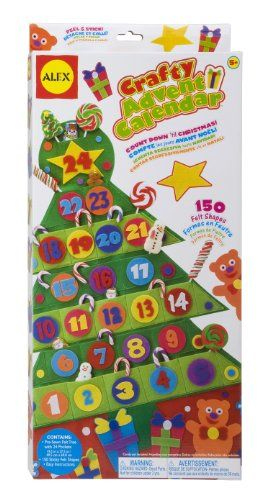 Advent Calendar Kits for Kids to Make or Decorate Alex toys