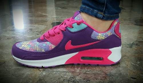 536a5b592bb Zapatillas Nike Air Max 90 Dama Importadas -   1.998
