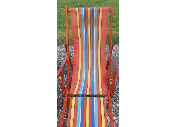 Photo of Pair of vintage lounge chairs