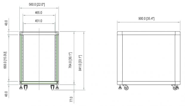19 Inch Rack Dimensions Google Zoeken Estudio Ideias