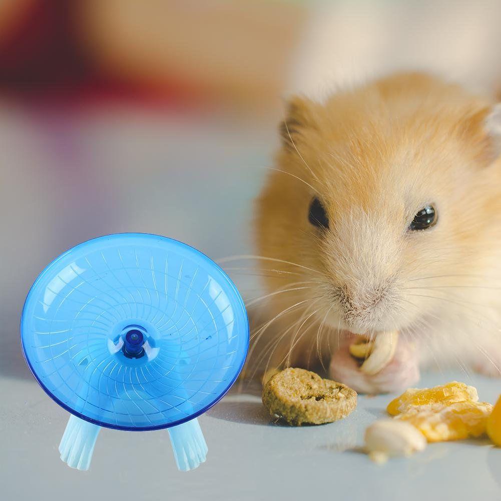 Aolvo Hamster Wheel Dwarf Hamster Toys Hamster Flying Saucer