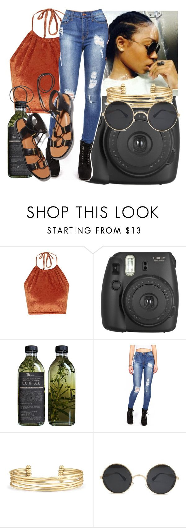 """""""🌞"""" by theyenvy-jorii ❤ liked on Polyvore featuring The Ragged Priest, Fujifilm, AMBRE, Stella & Dot and Rosetta Getty"""