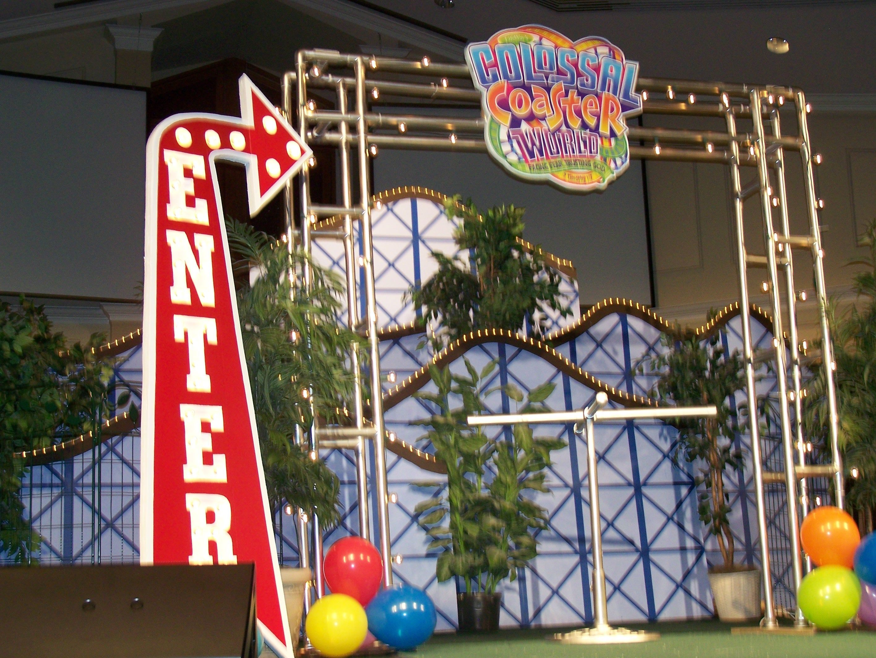 Colossal Coaster World Set Vbs Themes Parade Float Theme Dance