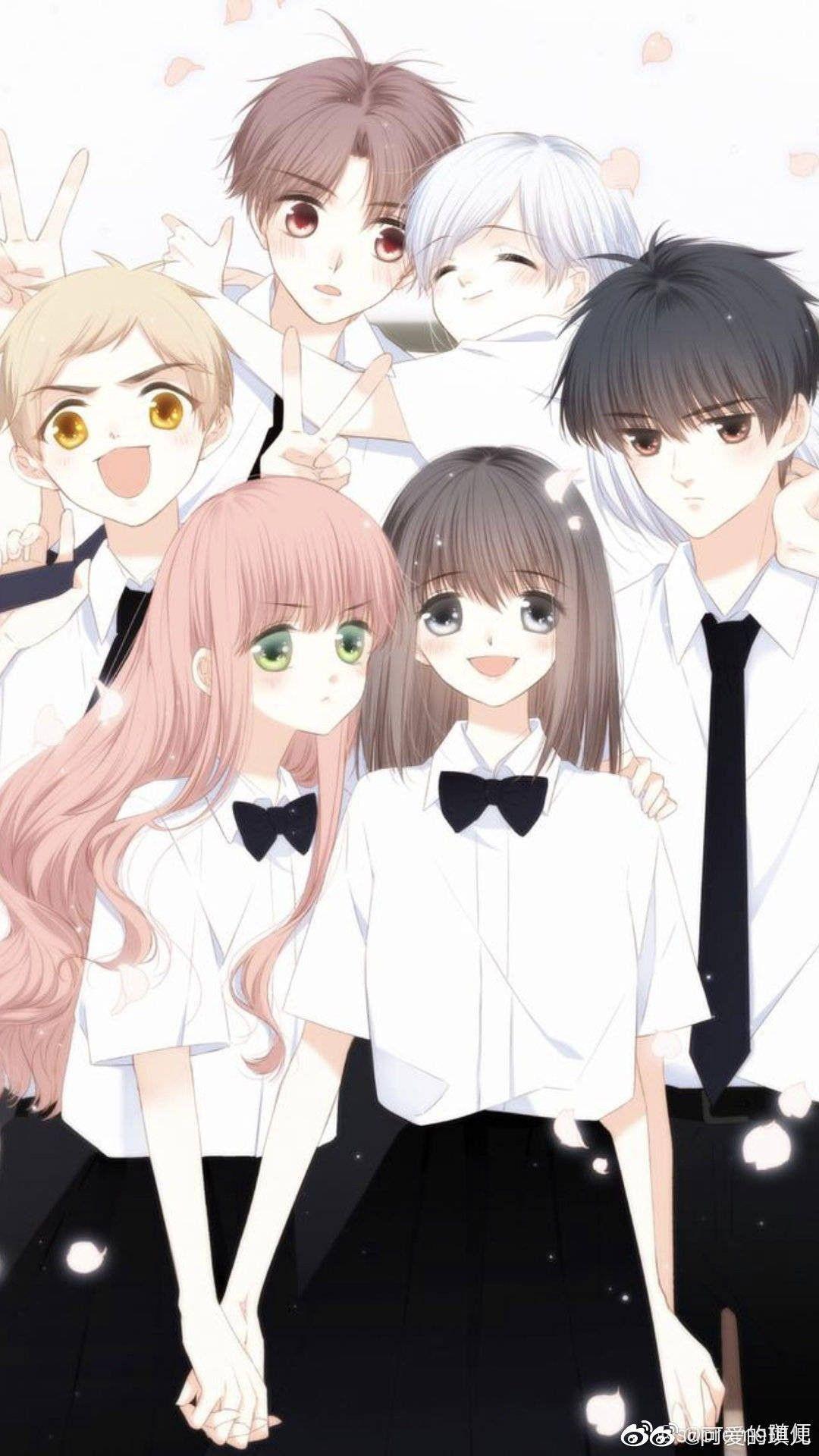 Pin oleh Reza di 怦然心动 Gambar anime, Gadis animasi