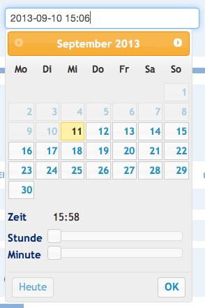 Date-Picker.