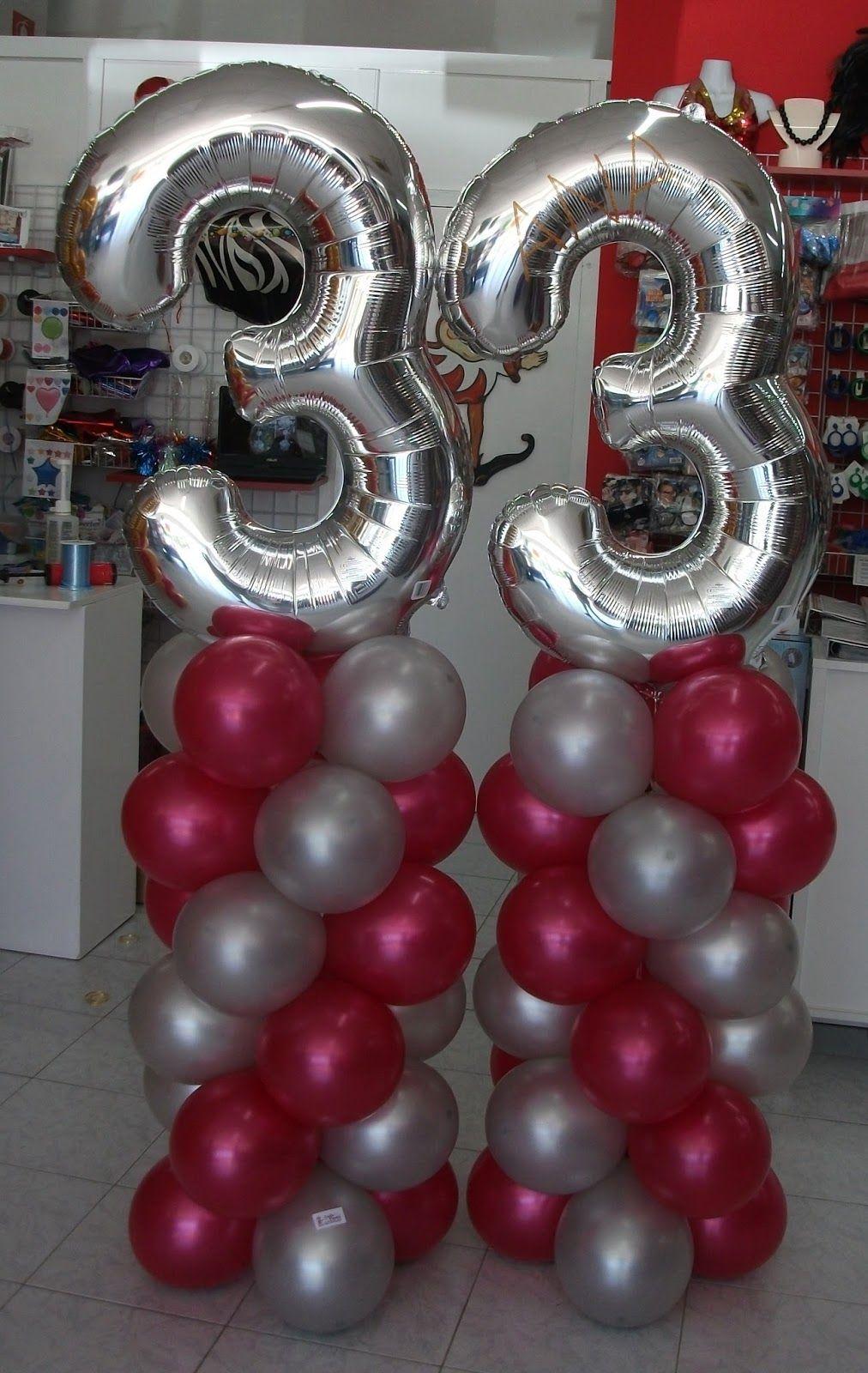 Decorar con globos para el cumplea os de mi mam buscar - Globos 50 anos ...