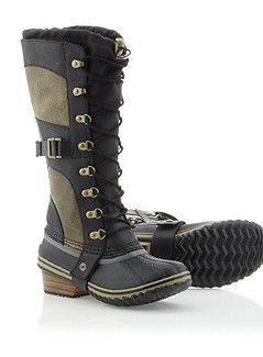 a14131a15c30 Dream boots for a mountain girl. Industrial. Utilitarian. CONQUEST CARLY™  by Sorel.