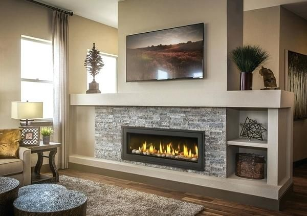 Cost Of Gas Fireplace Napoleon Vector See Thru Direct Vent Linear Average Repair