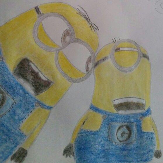 Drawn my won pair of minions! ;)