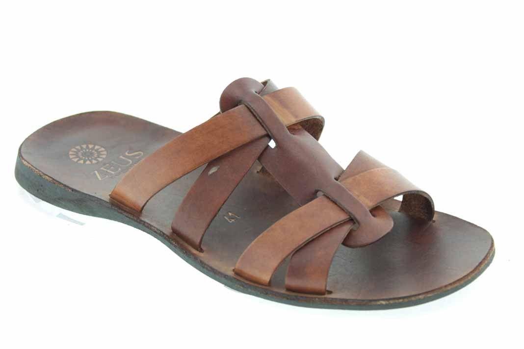 98737631582 Center 51 vous présente le modèle Sandale Zeus 1273 cuir marron à 49