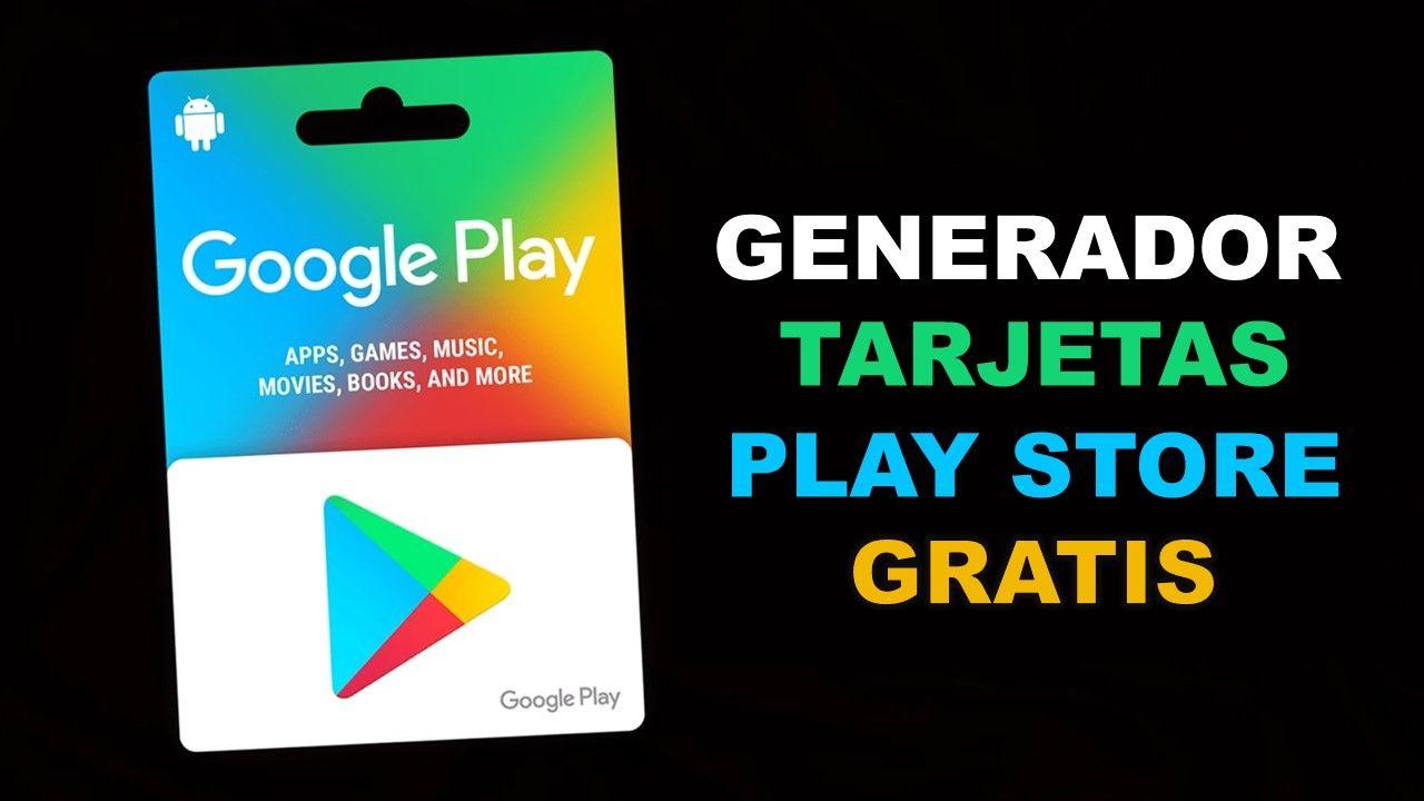 Genera Códigos De Tarjetas Para Google Play Y Canjéalos Entra Ya Para Conseguir Tu Saldo Gratis En 2019 Tarjetas Gratis Tarjetas Google Play