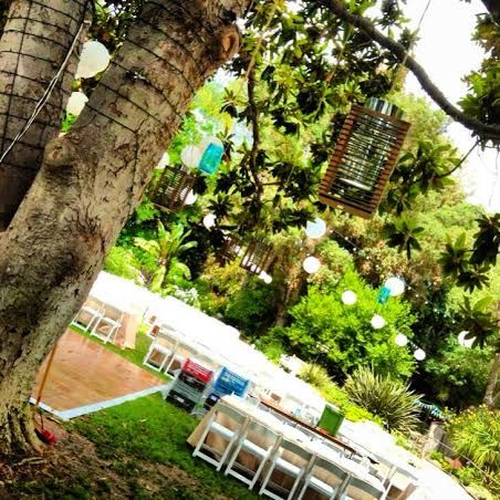 Custom Lighting // Wedding Lighting // Lights & Lanterns // by BRIGHT IDEAS LIGHTING //  www.brightideaslighting.co // Mason Jars // Rustic Chic // Mother Tree // San Diego Botanic Gardens // Garden Wedding