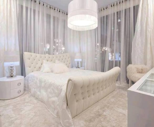 Tipos de cortinas modernas e aconchegantes bed room - Tipos de cortinas modernas ...