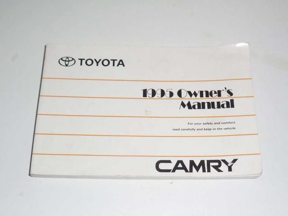 1995 toyota camry owners manual book guide owners manuals pinterest 1995 toyota camry owners manual book guide fandeluxe Gallery