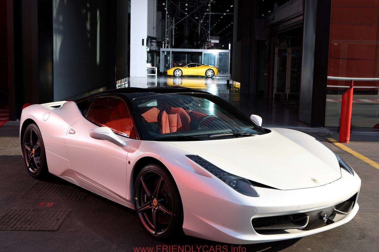 Awesome Ferrari Italia Spider White Car Images Hd Ferrari 458
