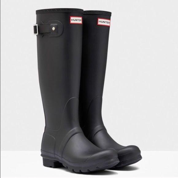 Hunter Original Tall Rain Boots Sz 7 New Nwt Womens Hunter Boots