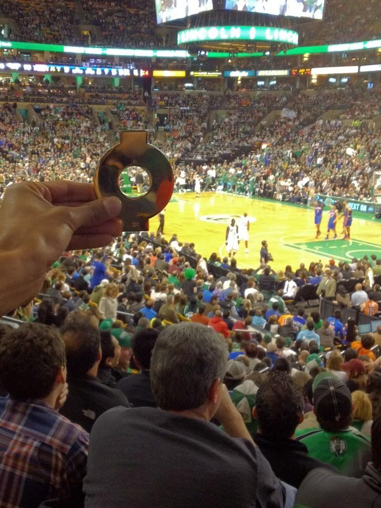 Oodlesanity meets Linsanity! Celtics - Knicks