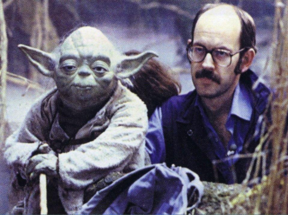 Frank Oz With Yoda Star Wars Star Wars Yoda Muppets Frank Oz