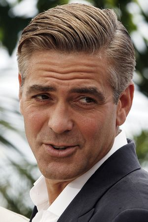 Image result for 2. George Clooney's comb over