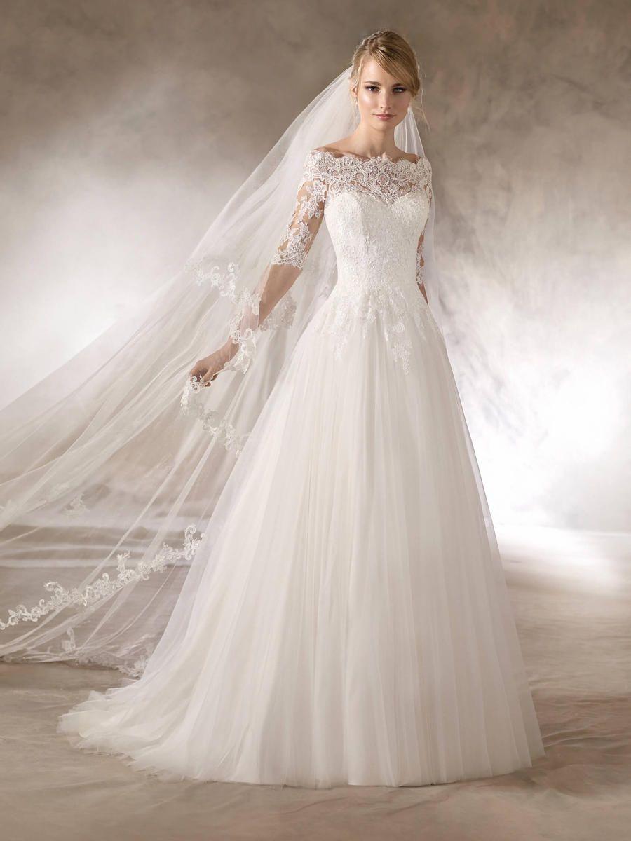 La Sposa By Pronovias At Estelleu0027s Dressy Dresses In Farmingdale, NY  #bridal #wedding