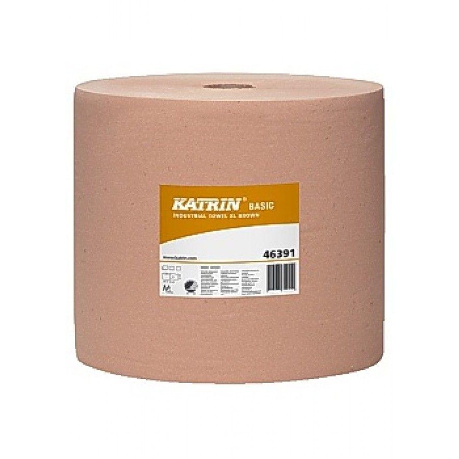 Industritorkrulle Basic XL 1000m/rl brun Köp billiga industritorkpapper, industritork, industritorkrulle online på nätet hos kontorsproffset.se