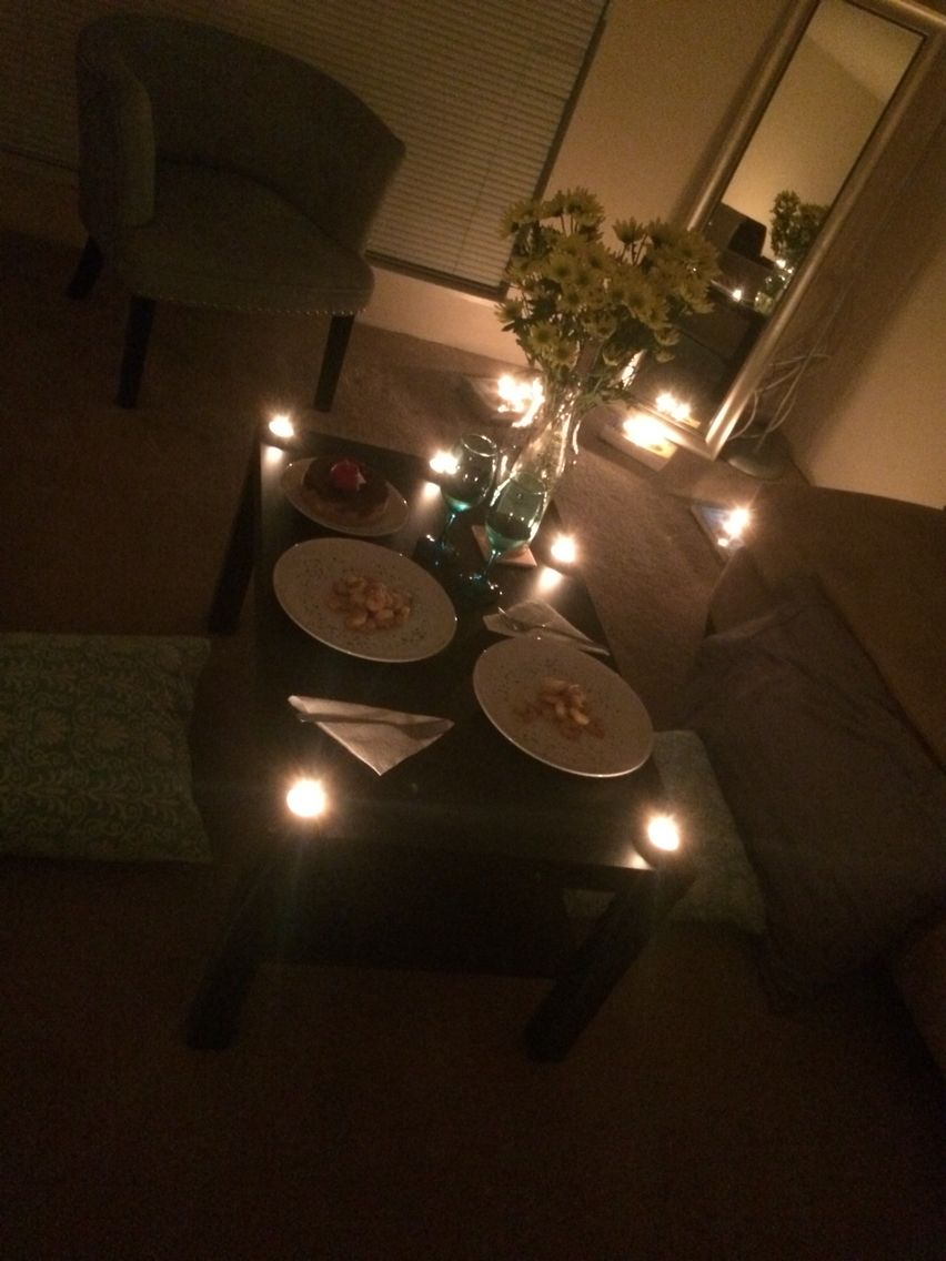 Romantic Dinner For Two At Home More