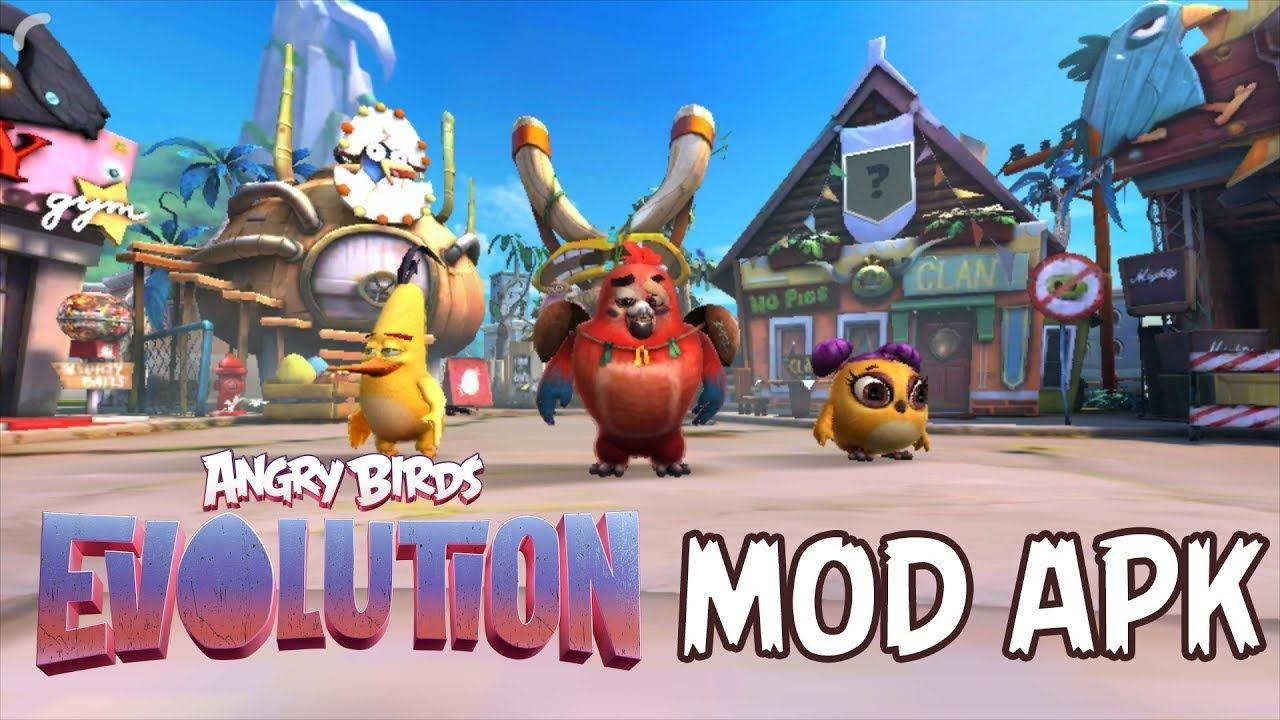Angry Birds Evolution Mod APK 2.0.1 God Mode, 1 Kill Hit