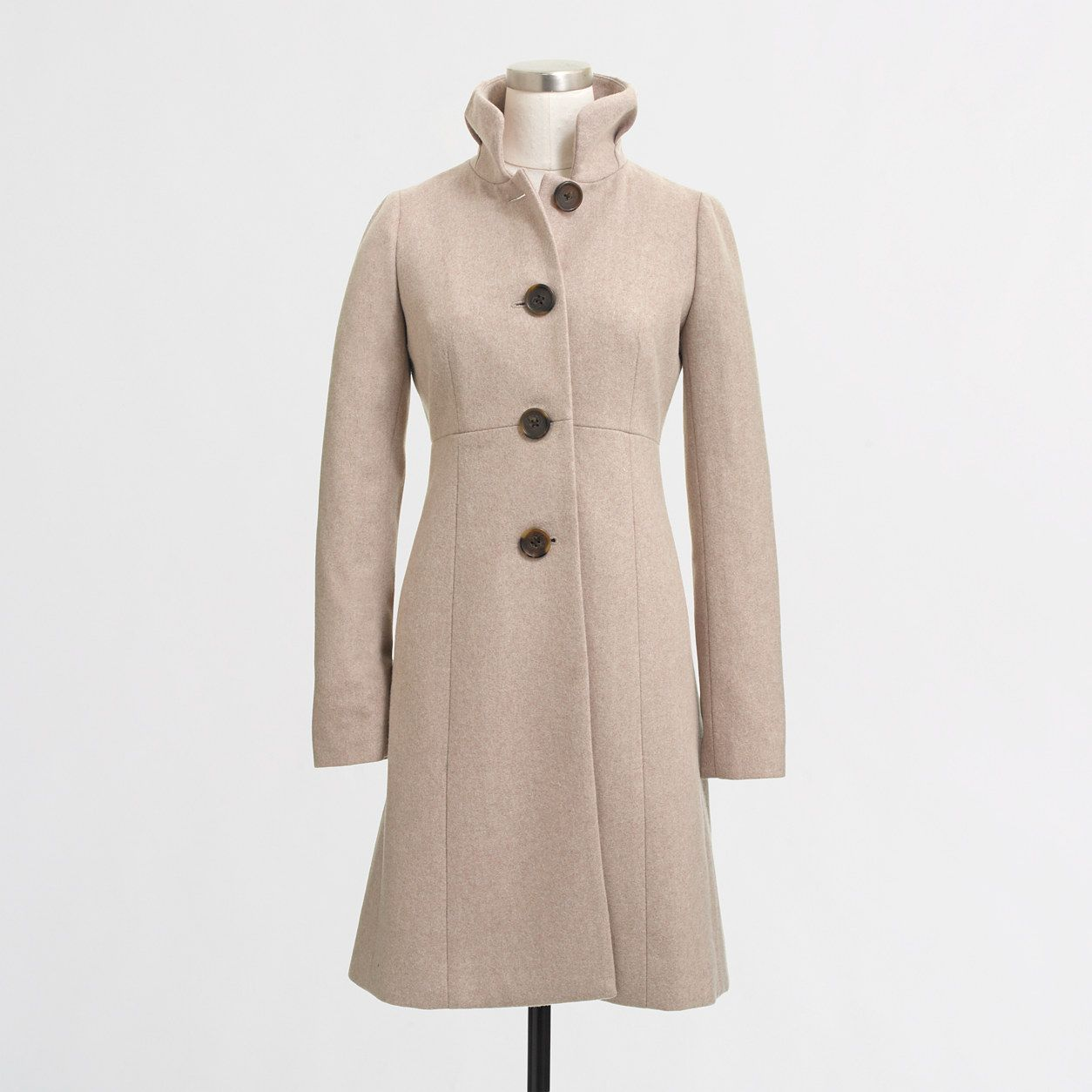 I would like a winter white dress coat Factory uptown dress coat ...