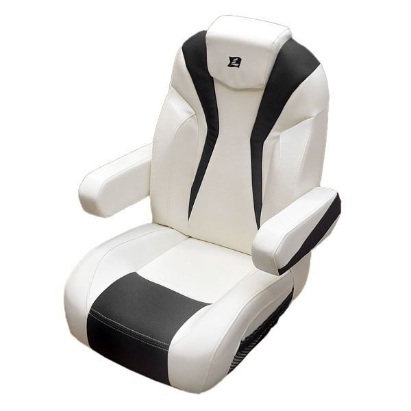 boat captains chair steel armless larson 15 lxi white carbon reclining seat 8307 1496 larsonboats