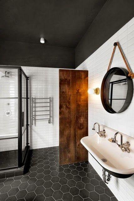 Espejos en el ba o etxekodeco ba os cuarto de ba o for Baldosas para banos pequenos
