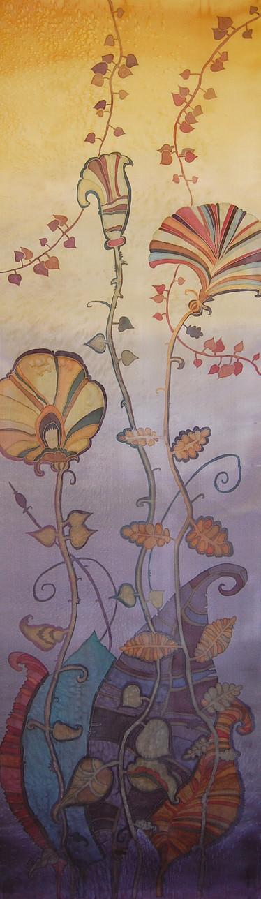 Art of Silk Painting by Irina Dorofeeva | Decor Panels