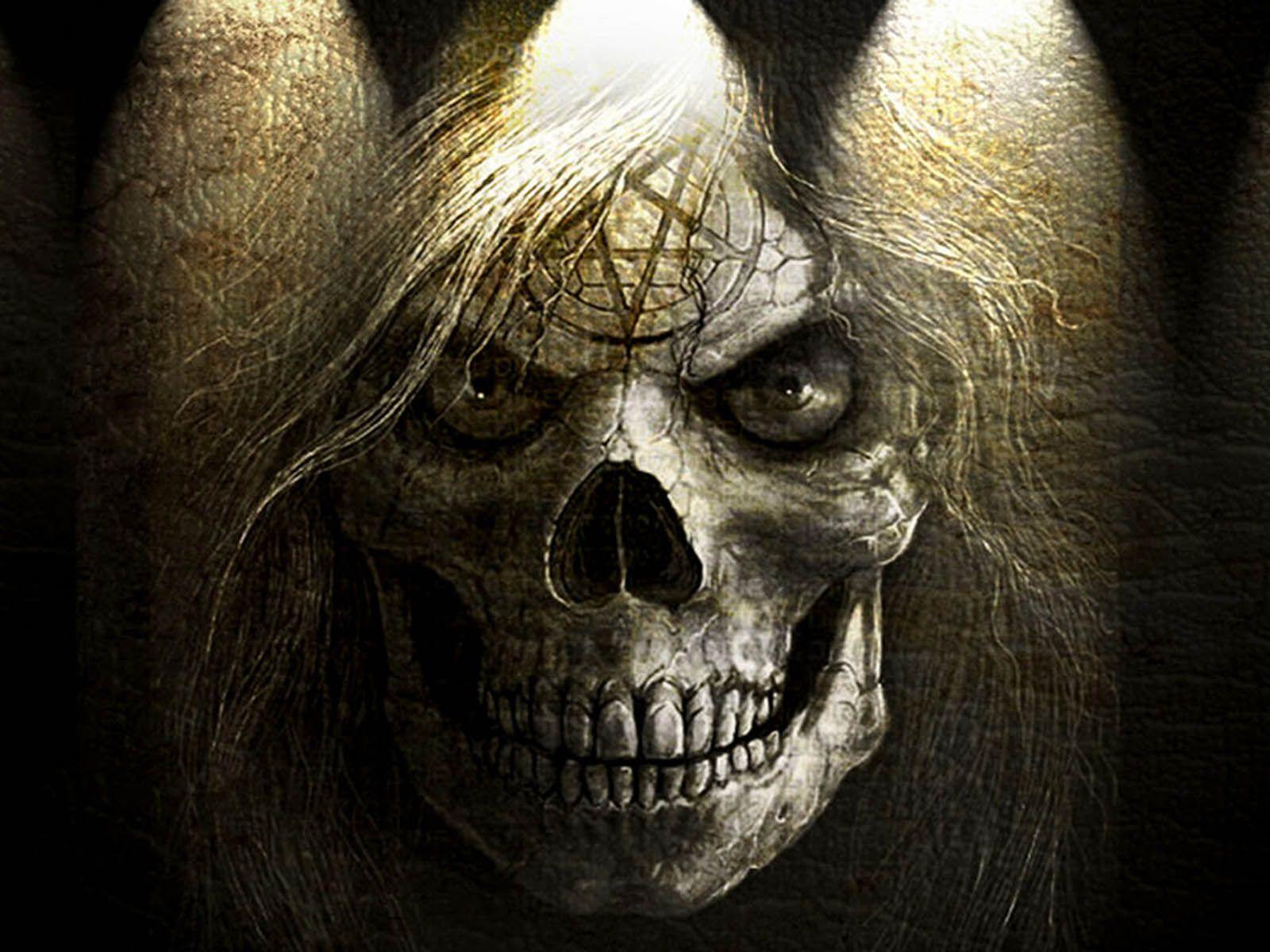 Wallpapers Horror Skull Wallpapers Skull Wallpaper Horror Wallpapers Hd Scary Wallpaper