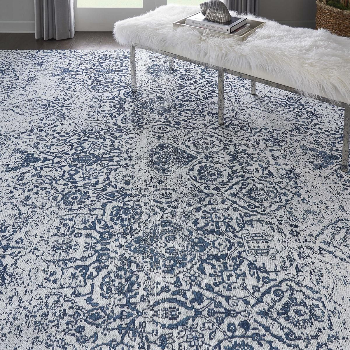 Nfm Small Rug Antique Inspiration Damask Area Rugs