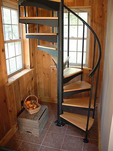Лестницы спиральные своими руками