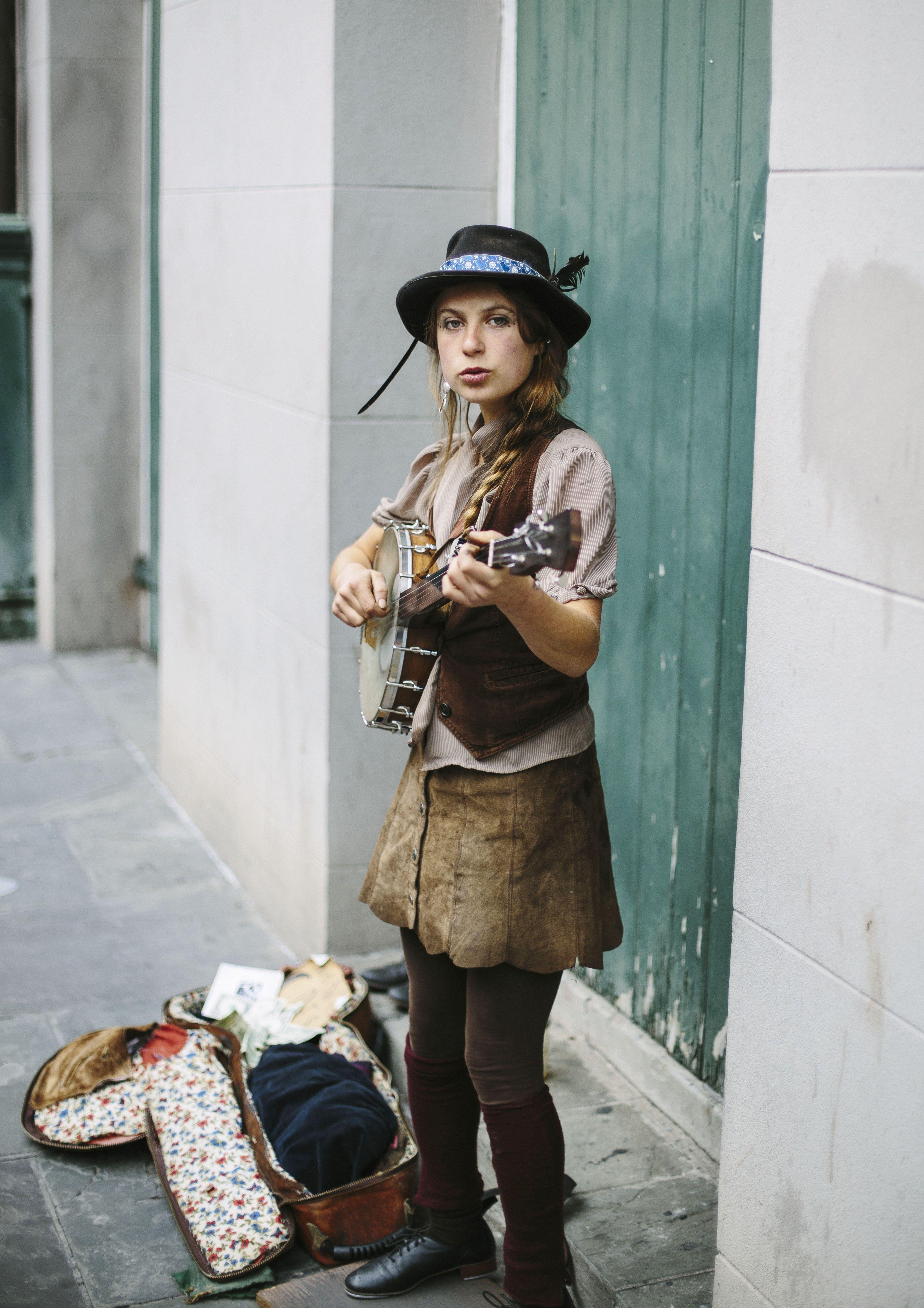 Street Performer Kia Ochun - New Orleans
