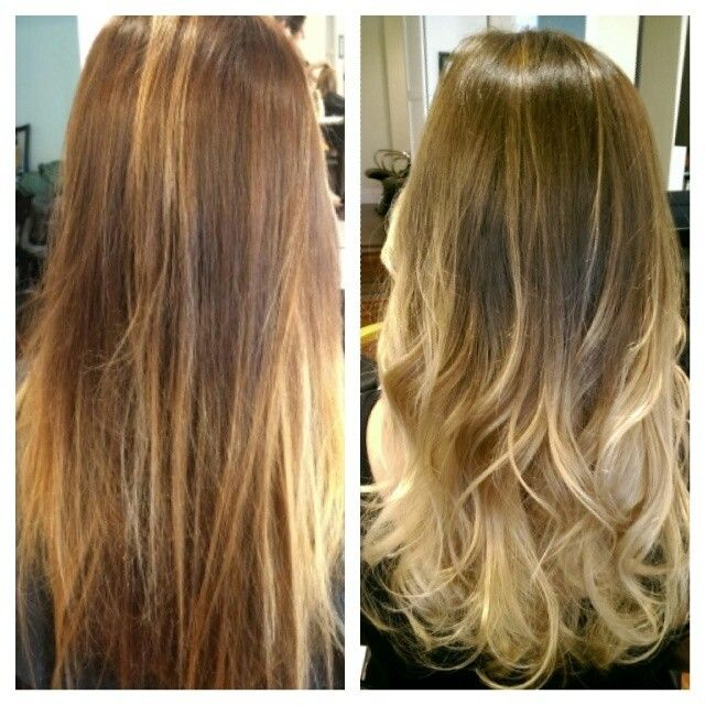 Partial Balayage Partial Balayage Vs Ombre Hair Styles And Color