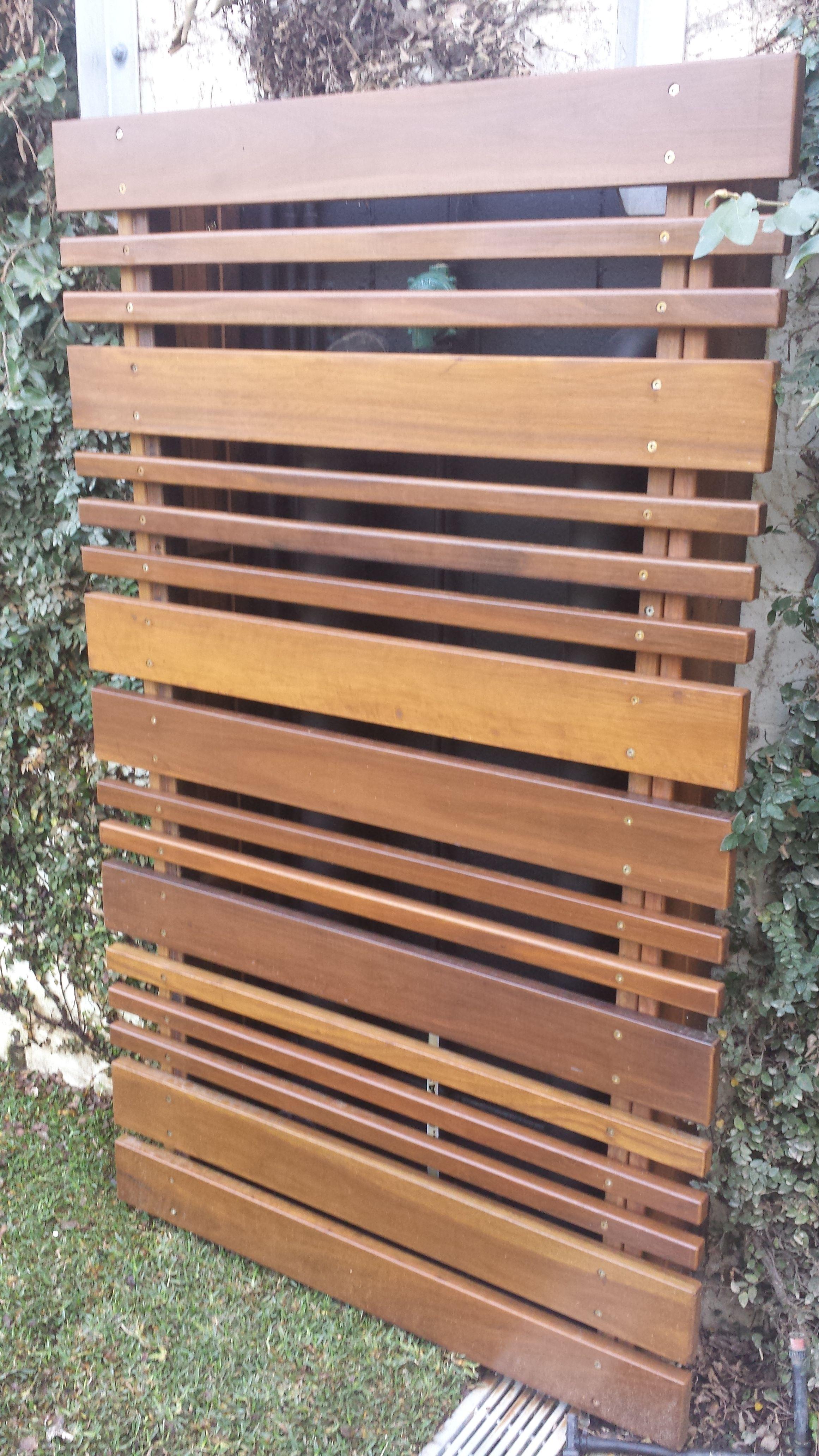 Australian Hardwood Timber Screen